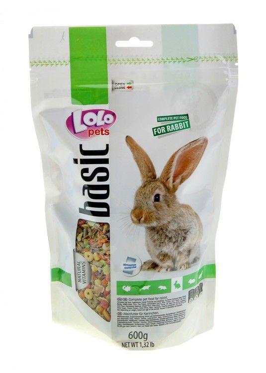 Корм LoLo Pets Rabbit для кролика - 600 г