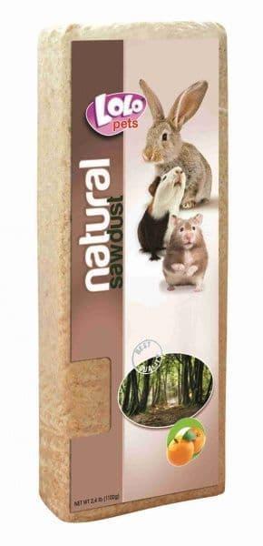 Подстилка из опилок LoLo Pets с ароматом цитруса - 1100 г