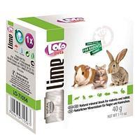 Минеральный камень LoLo Pets для грызунов и кроликов, натуральный - 40 г
