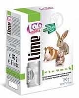 Минеральный камень LoLo Pets для грызунов и кроликов, натуральный - 190 г