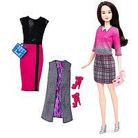 """Кукла Барби """"Игра с модой"""" азиатка с одеждой и аксессуарами"""
