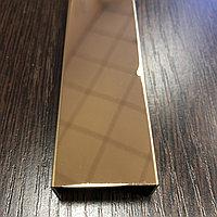 Профиль для декорирования мебели 12*30, зеркальное золото, 305 см, фото 1