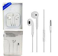 Наушники Apple EarPods 3.5mm WHITE Копия, фото 1