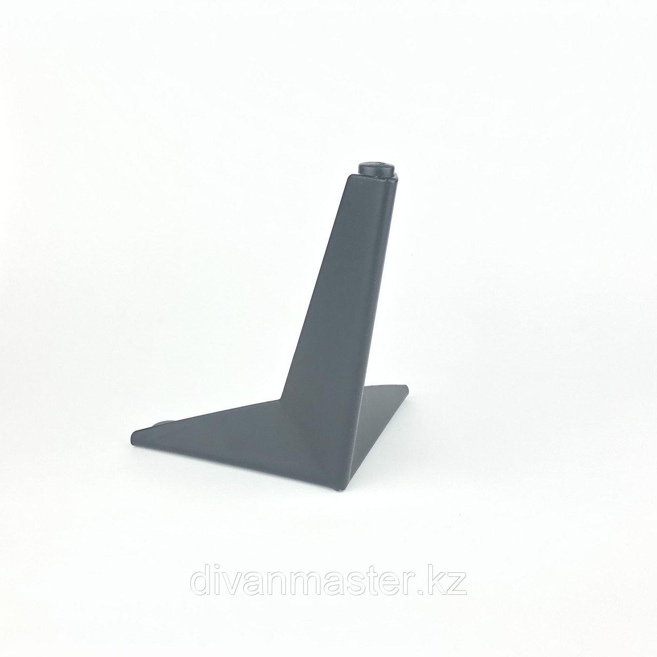 Ножка стальная с наклоном, для диванов и кресел, 13 см