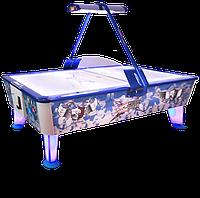 Аэрохоккей «Kick Shot» 8 ф (238 х 128 х 83 см, цветной, жетоноприемник/купюроприемник)