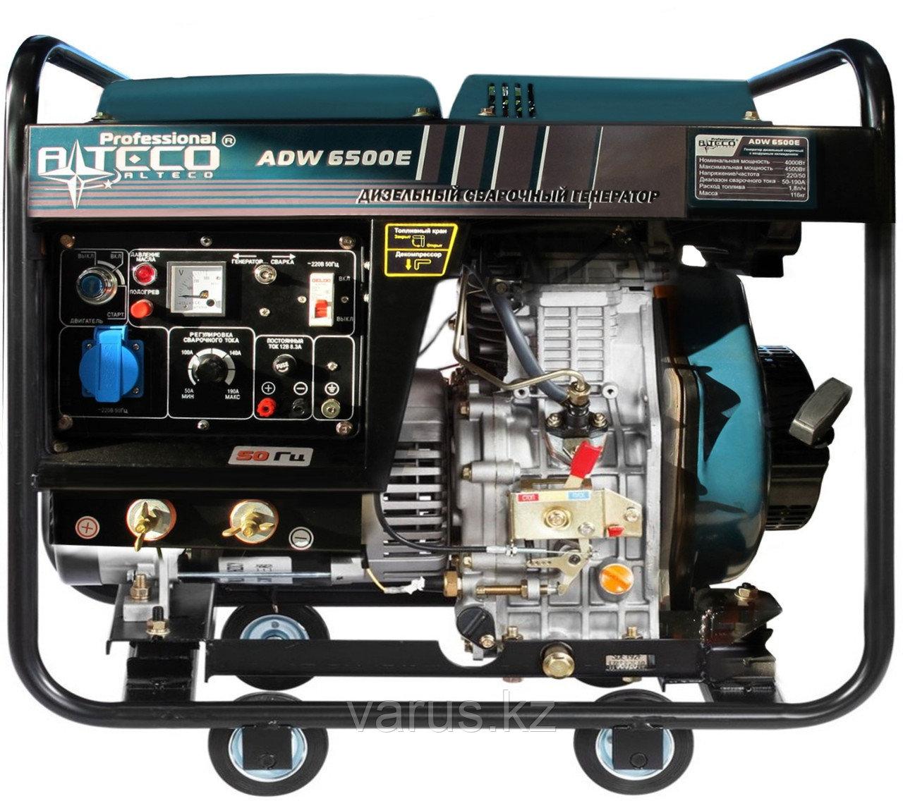 Дизельный генератор сварочный Alteco Profesional  ADW-180E (6500Е)