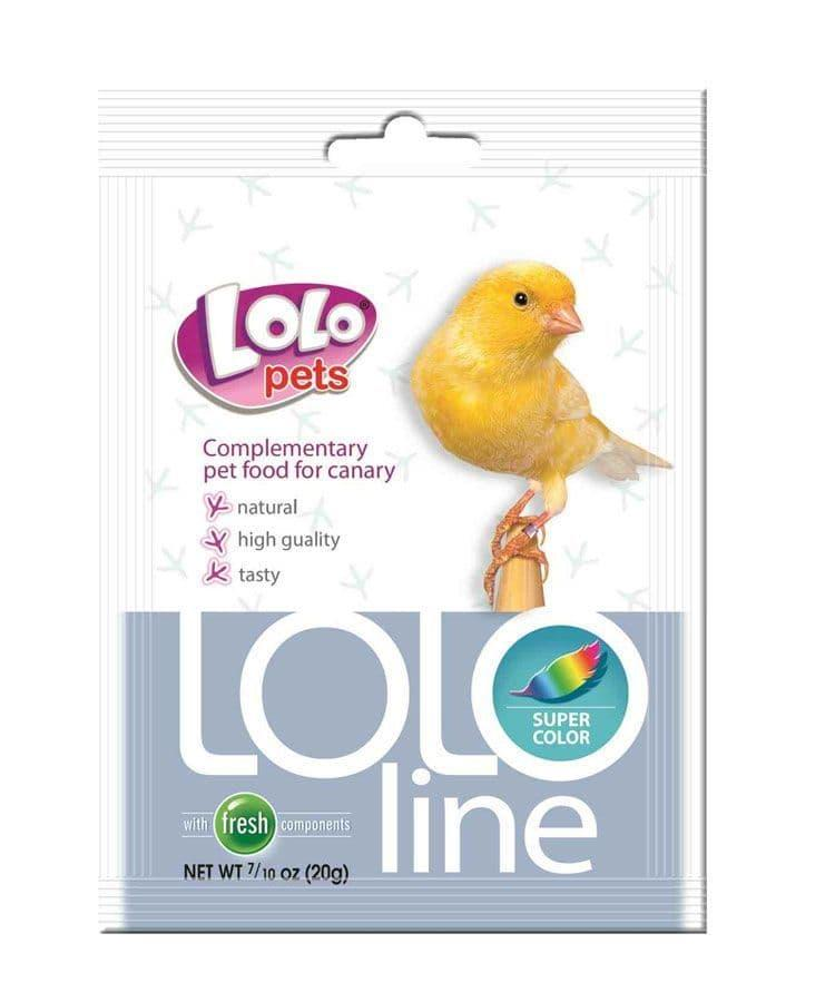 Кормовая смесь LoLo Pets Супер окраска для канареек - 20 г