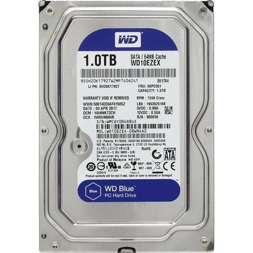 Жесткий диск HDD 1Tb Western Digital Blue 7200rpm