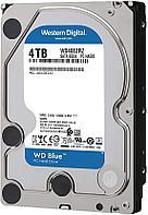 Жесткий диск HDD 4Tb Western Digital Blue SATA 6Gb/s 64Mb 5400rpm WD40EZRZ