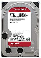 "Жесткий диск для NAS систем HDD  6Tb Western Digital RED SATA 6Gb/s 3.5"" 256Mb"