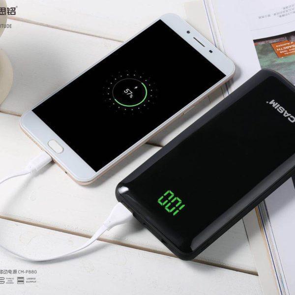 Дополнительный аккумулятор Casim power bank CM-P880 20000 mAh (черный)