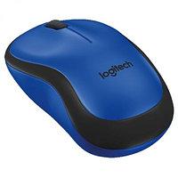 Мышка беспроводная Logitech M220 Silent (Blue), фото 1