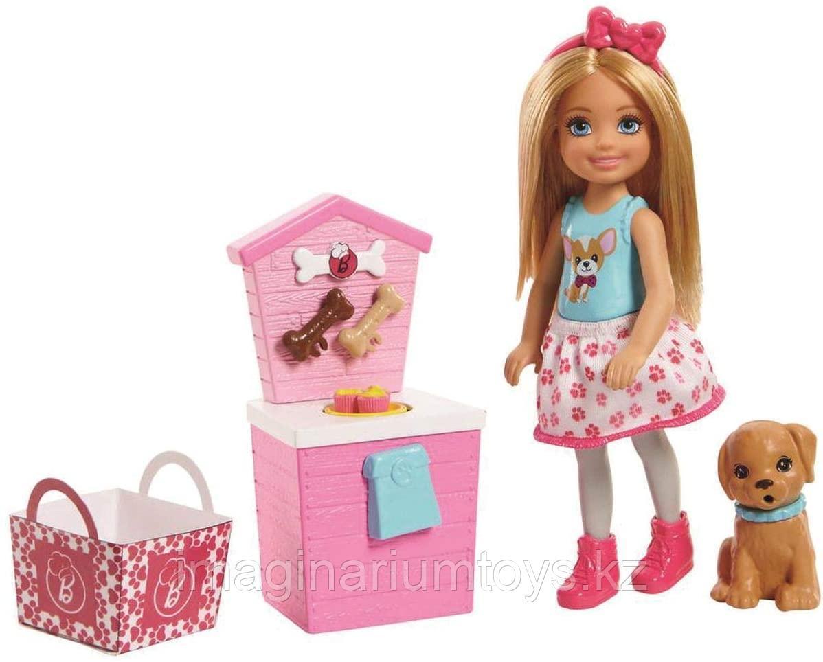 Mattel Barbie Барби Челси и щенок