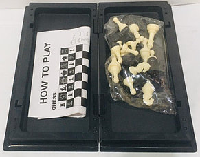 Магнитные шахматы переносные (размеры: 15*15*1,5 см), фото 2
