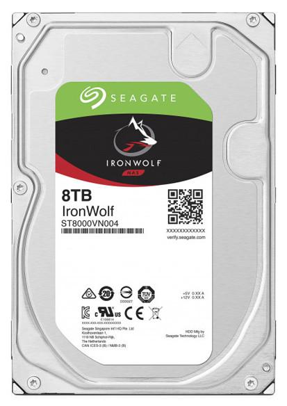 "Жесткий диск для NAS систем 8Tb HDD Seagate IronWolf SATA 6Gb/s 7200rpm 3.5"" 256Mb ST8000VN004"