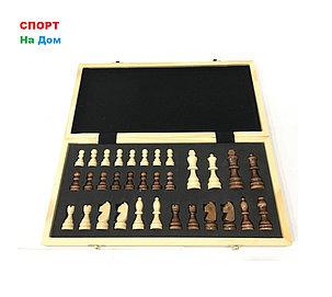 Сувенирные шахматы деревянные магнитные (размеры: 40*40*5 см), фото 2