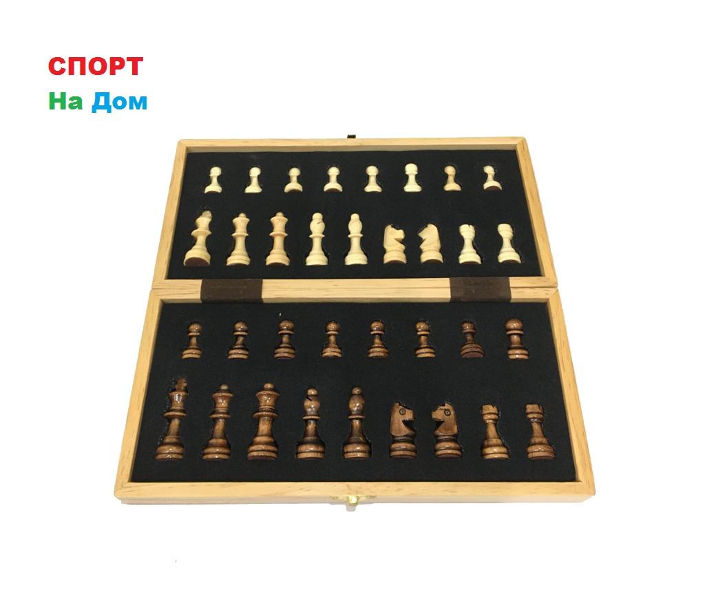 Сувенирные шахматы деревянные магнитные (размеры: 30*30*5 см)
