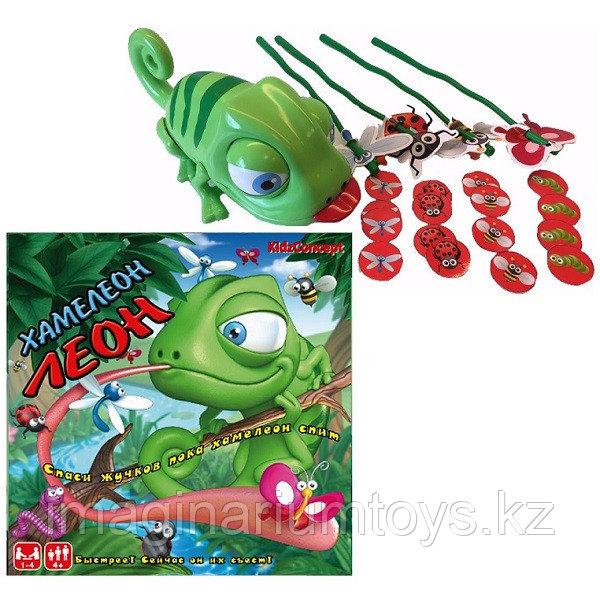 Детская настольная игра KidzConcept «Хамелеон Леон»
