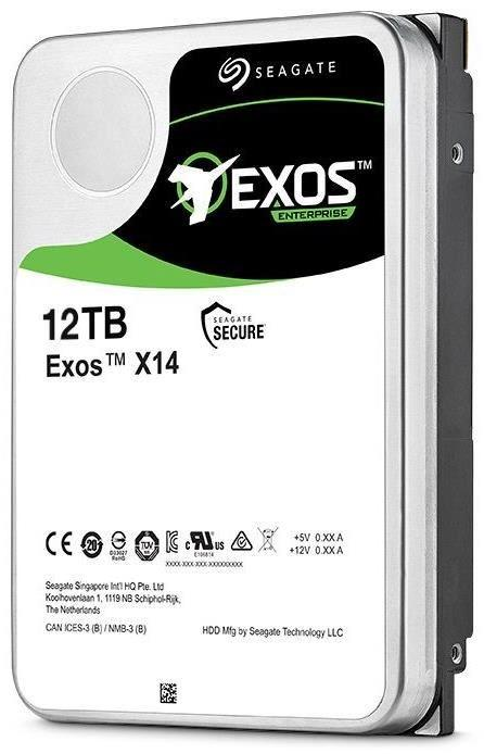 "Жёсткий диск HDD 12 Tb SATA 6Gb/s Seagate Exos X14 ST12000NM0008 3.5"" 7200rpm 256Mb"