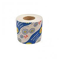 """Туалетная бумага """"Комфорт для всей семьи 54"""", в амбалаже, с тиснением и перфорацией,1 слой, 100 гр. Россия"""