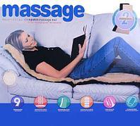 Матрас массажный с мехом, пультом ДУ и ИК-прогревом FitStudio Massage Mat Shiatsu [9 режимов]