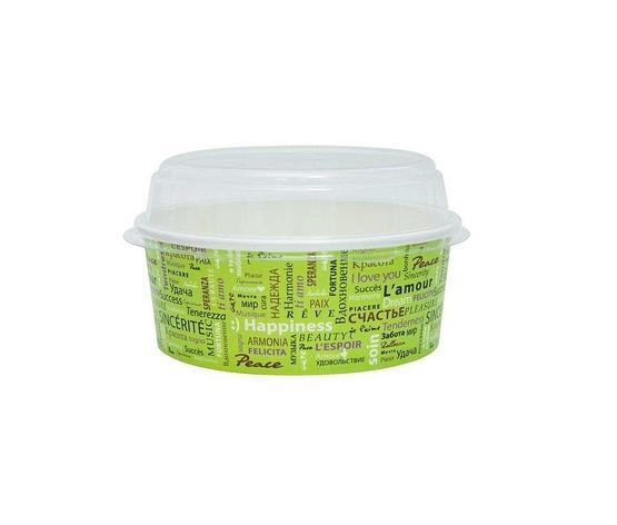 Крышка для салатника, кругл., d 150мм, прозрачн., БОПП, 1000 шт, фото 2