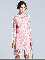Розовое вечернее платье, фото 1
