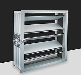 Алюминиевая заслонка регулировки расхода воздуха (дроссель клапан)  (FK002)