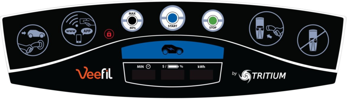 Электрические зарядные устройства Tritium EV Gilbarco - фото 10