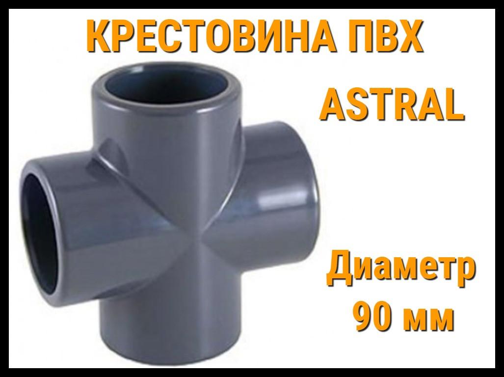 Крестовина ПВХ Astral (90 мм)