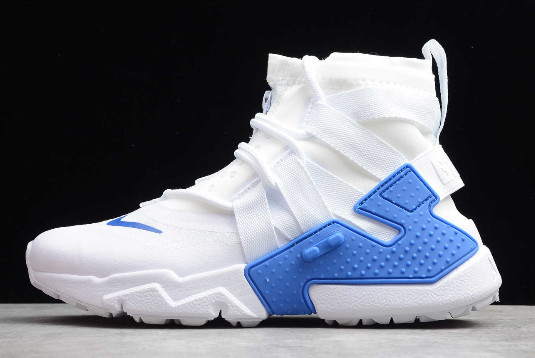 "Кроссовки Nikе Air Hurache Gripp ""White/Royal Blue"" (36-45)"