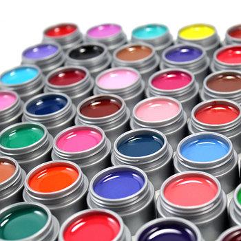 Гель-краски, гель-пасты, гели для дизайна ногтей