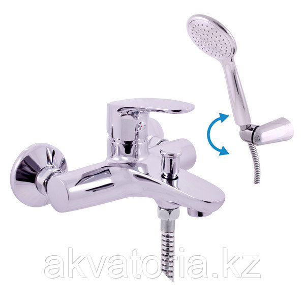 AM754.5/2 AMUR рычажный смеситель для ванны с душем