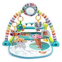 """Музыкальный развивающий игровой коврик для детей от Funkids """"Kick & Play Pianomat"""""""