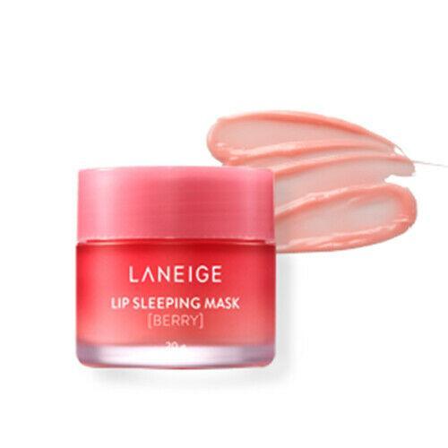 LANEIGE Lip Sleeping Mask Ночная Крем-Маска для Губ с экстрактом МАЛИНЫ 8гр