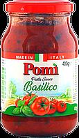 Соус для пасты pomi basilico 400г