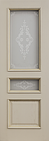 Комплект двери ДвериХолл Граф багет тиснение ст. Тезоро 900x2000
