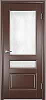 Комплект двери ДвериХолл Джесика лайт стекло Готика 600x2000