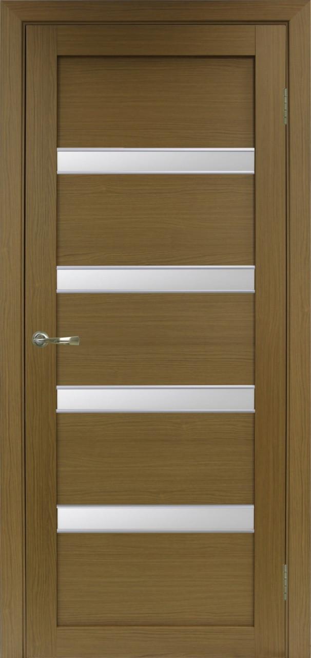 Комплект двери Оптима Порте 505 АПС мат.хром ст. сатин 600x2000 - фото 1