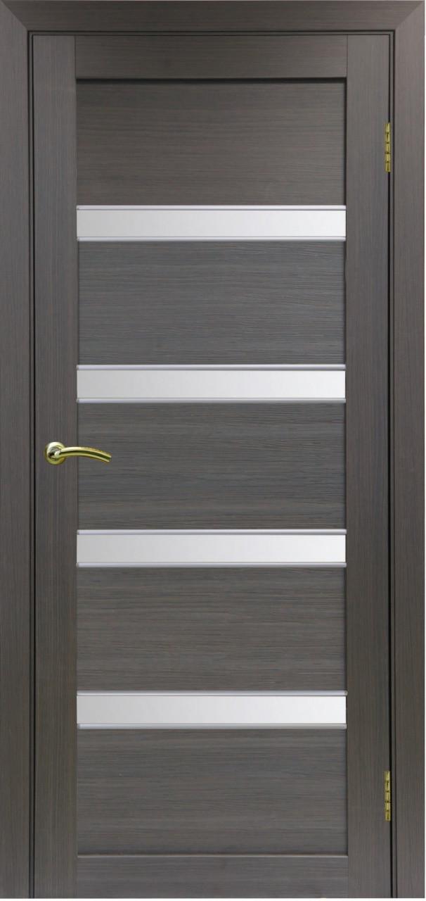 Комплект двери Оптима Порте 505 АПС мат.хром ст. сатин 600x2000 - фото 2