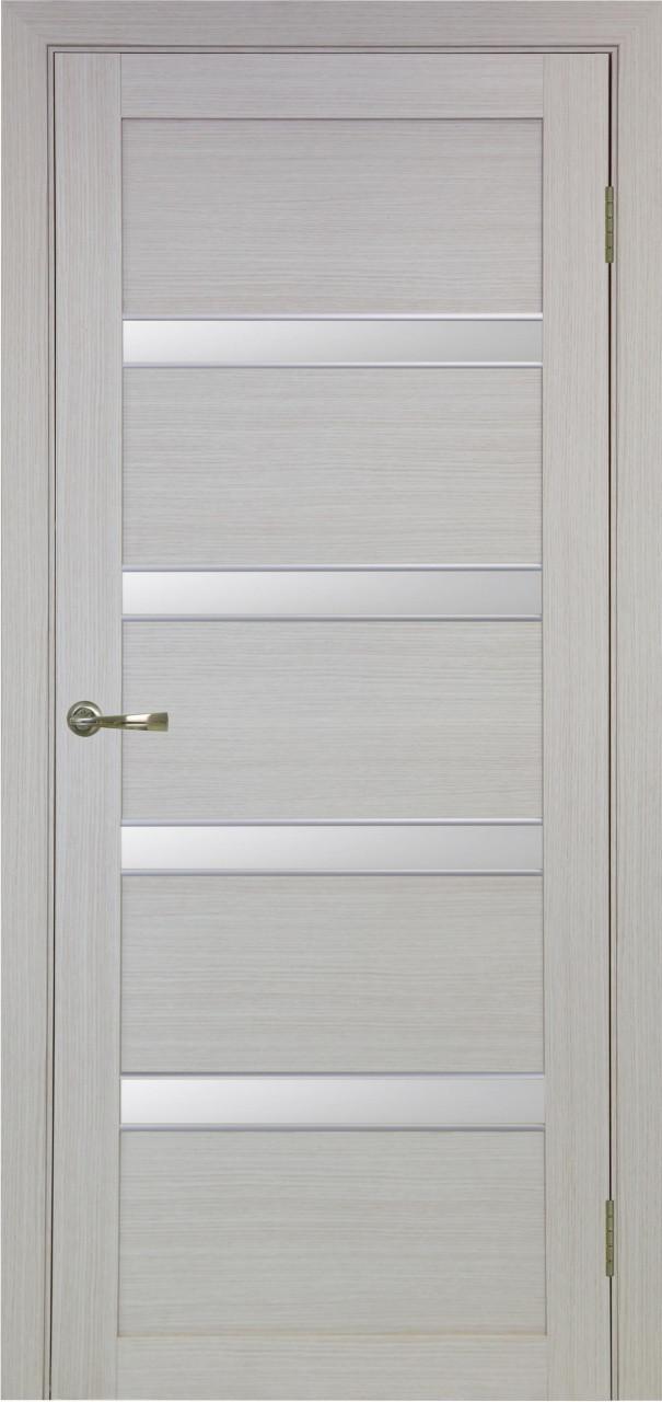Комплект двери Оптима Порте 505 АПС мат.хром ст. сатин 600x2000 - фото 3