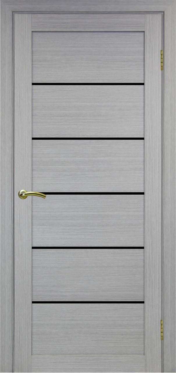Комплект двери Оптима Порте 506 ст.черное 600x2000 - фото 1