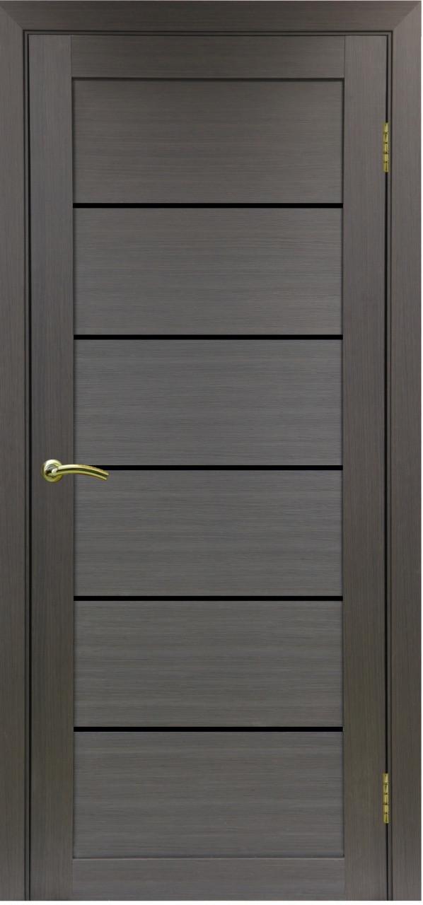 Комплект двери Оптима Порте 506 ст.черное 600x2000 - фото 2