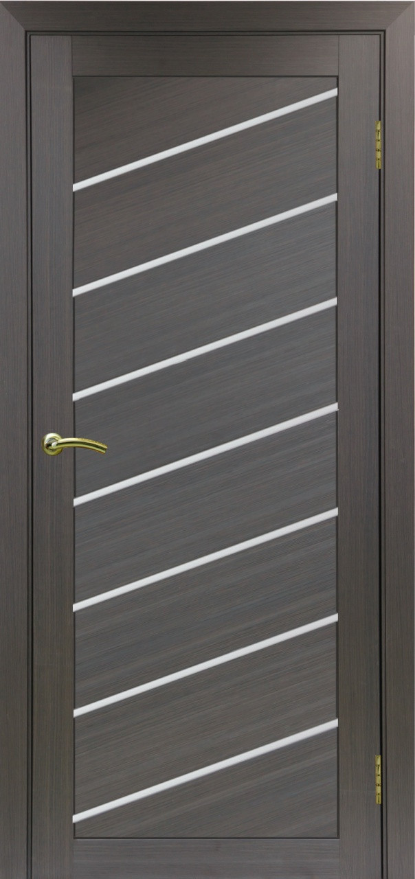 Комплект двери Оптима Порте 508 У ст. сатин 600x2000 - фото 1