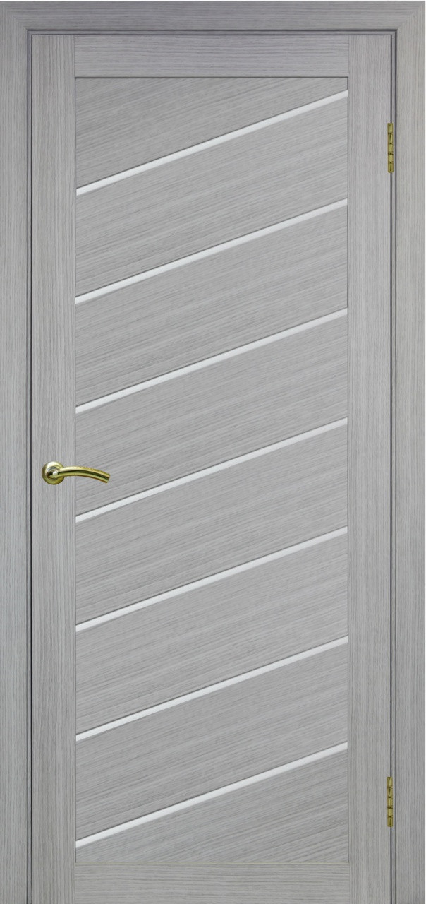 Комплект двери Оптима Порте 508 У ст. сатин 600x2000 - фото 2
