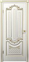 Комплект двери ДвериХолл Олимпия ДГ патина золото 600x2000