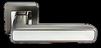 Дверная ручка Morelli DIY MH-44 GR/CP-S55 Цвет - графит/полированный хром