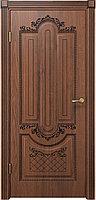 Комплект двери ДвериХолл Олимпия ДГ черная патина 600x2000