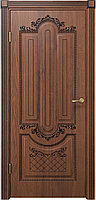 Комплект двери ДвериХолл Олимпия ДГ черная патина 600x2000 800x2000