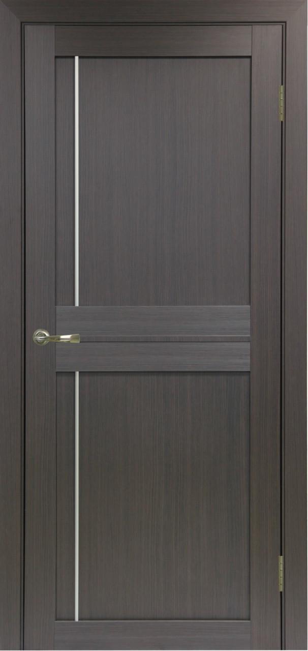 Комплект двери Оптима Порте 523.111 АПП мат.хром 600x2000 - фото 1